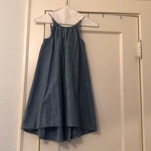 Crewcuts denim sun dress size 7